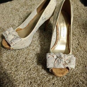 Lace Never Been Worn Heels